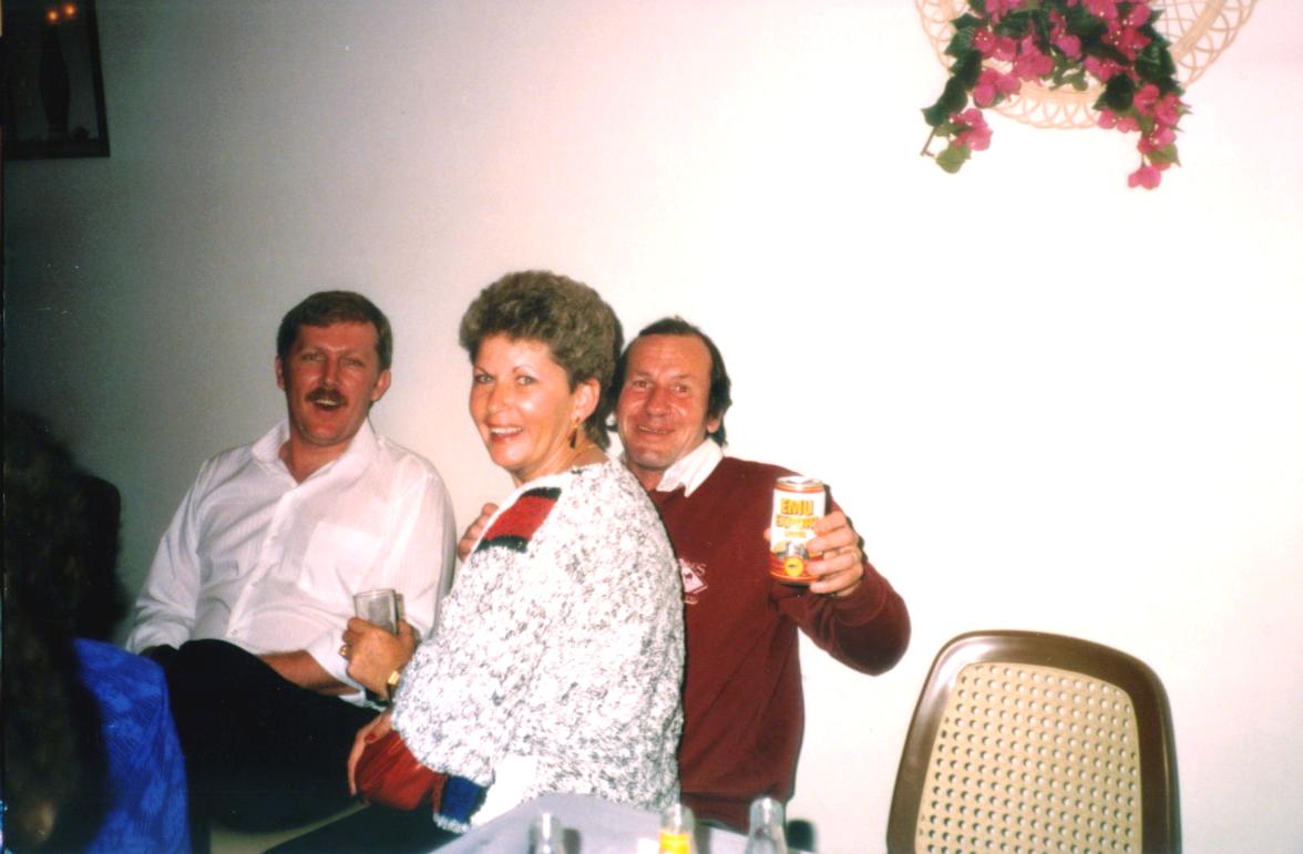Roger & Larraine Glocke, Trevor Mosel