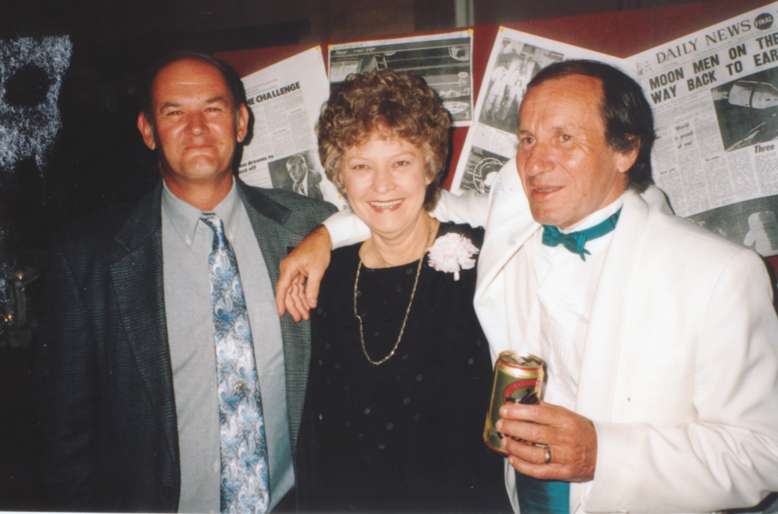 Norm Pitt, Wendy Wise & Trevor Mosel