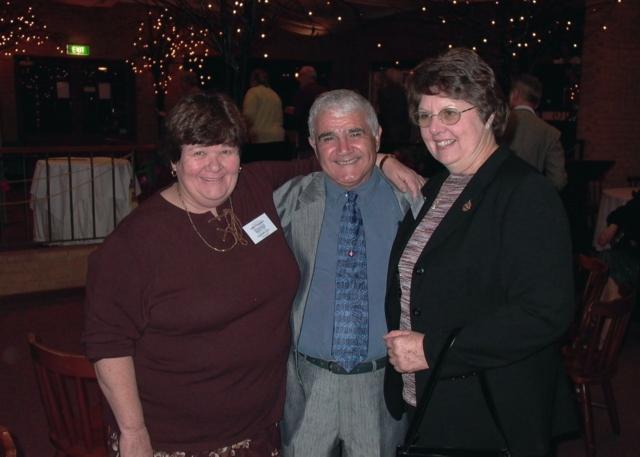 Barb King, Tito Teraci & Lorraine Sartori