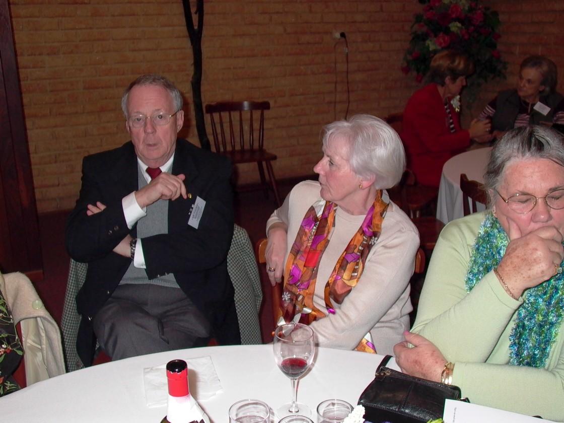 Barry Heald, Maggie Lambert & Bev Robertson