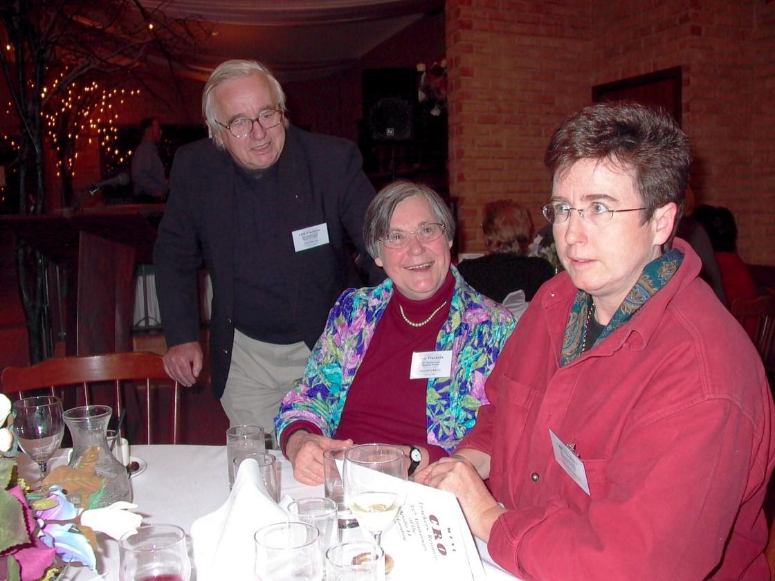 Jim, Alison & Catriona Gregg