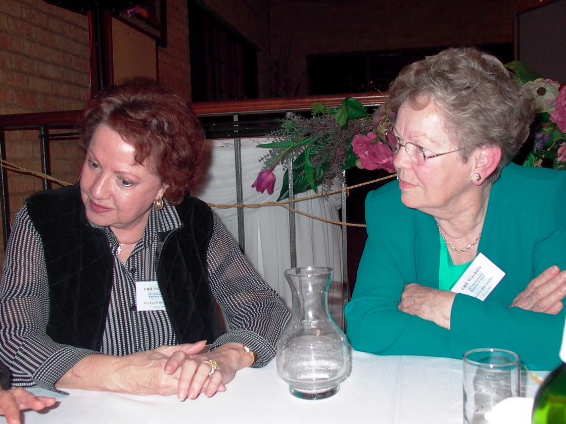 Jocelyn Housley & Betty Hocking