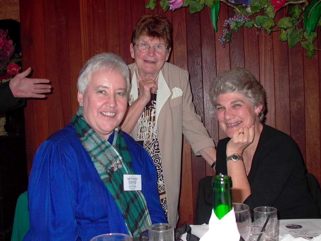 Kaye Barr, Amy Chandler & Eloise Ford