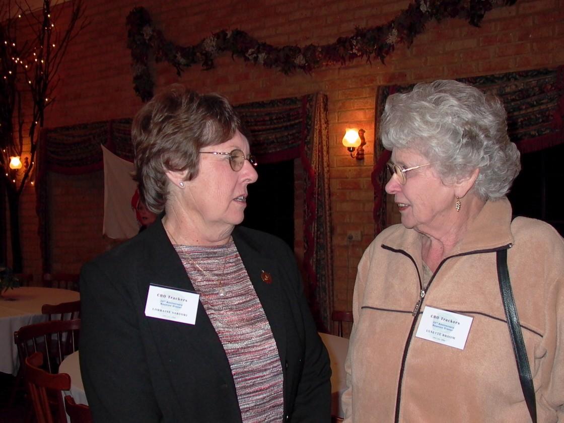 Lorraine Sartori & Lyn Broom