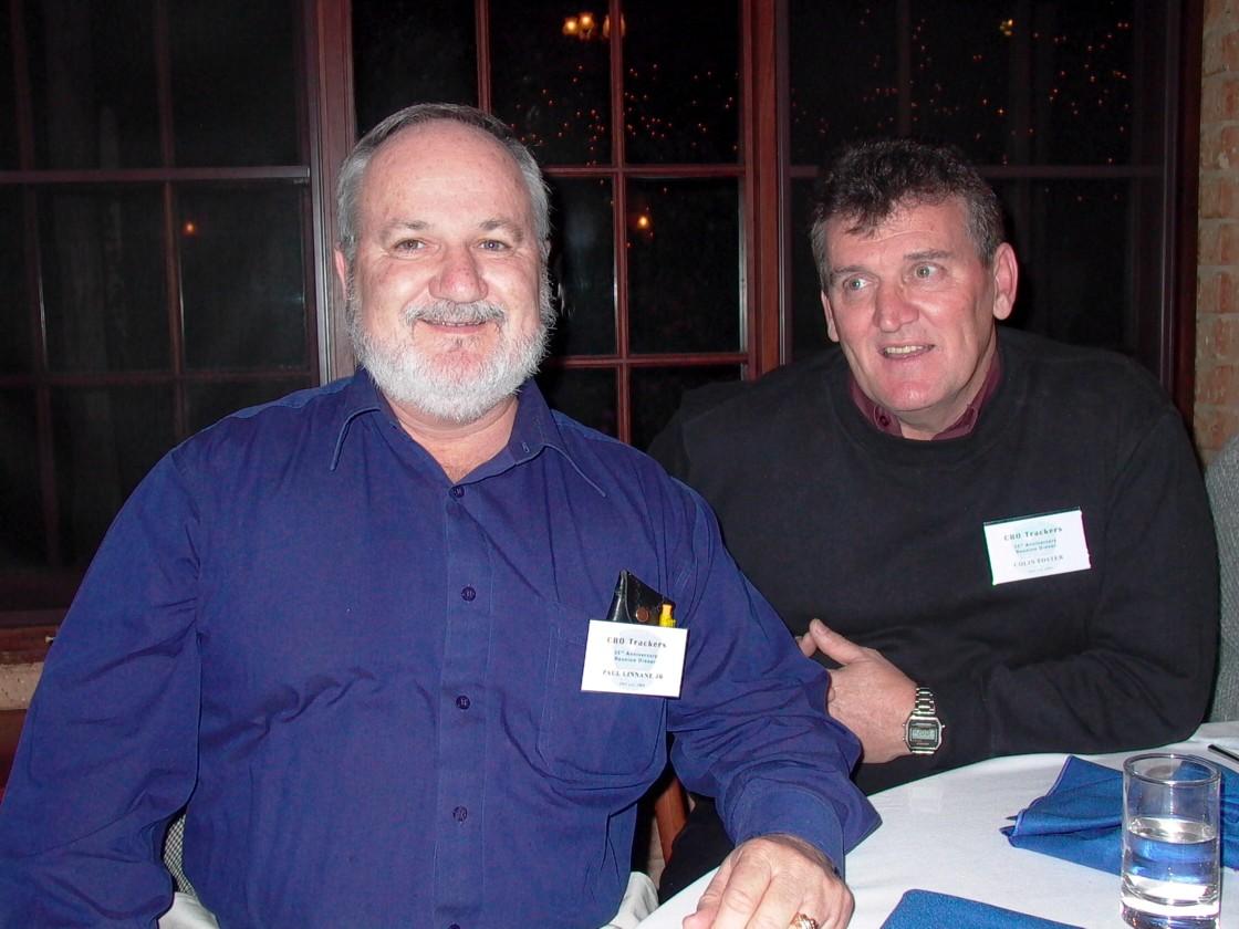 Paul Linnane Jnr & Colin Foster