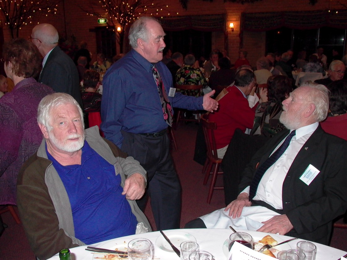 Ron Ashford, Terry Kierans & Bill (Jeff) Chandler