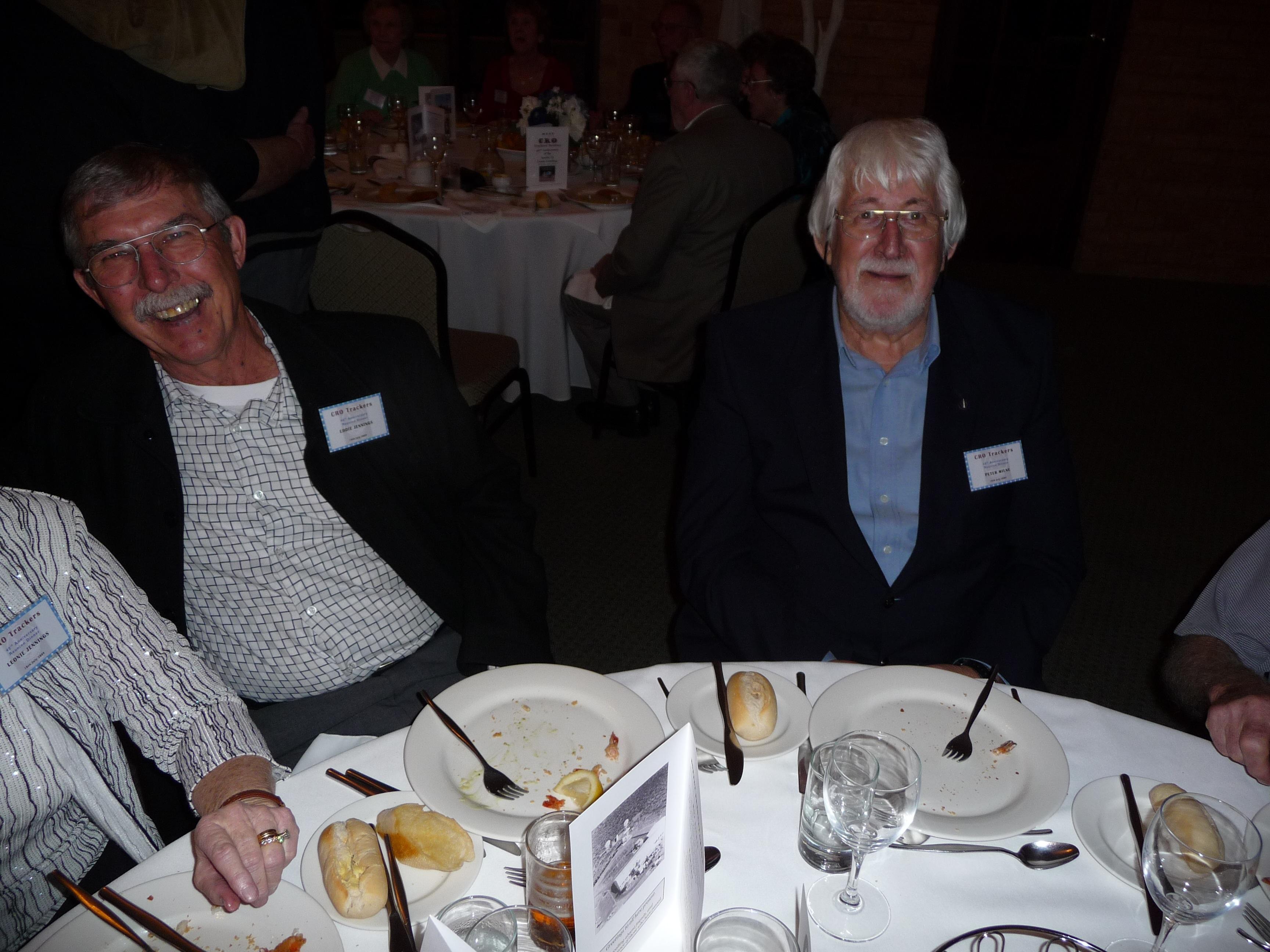 Eddie Jennings & Peter Milne