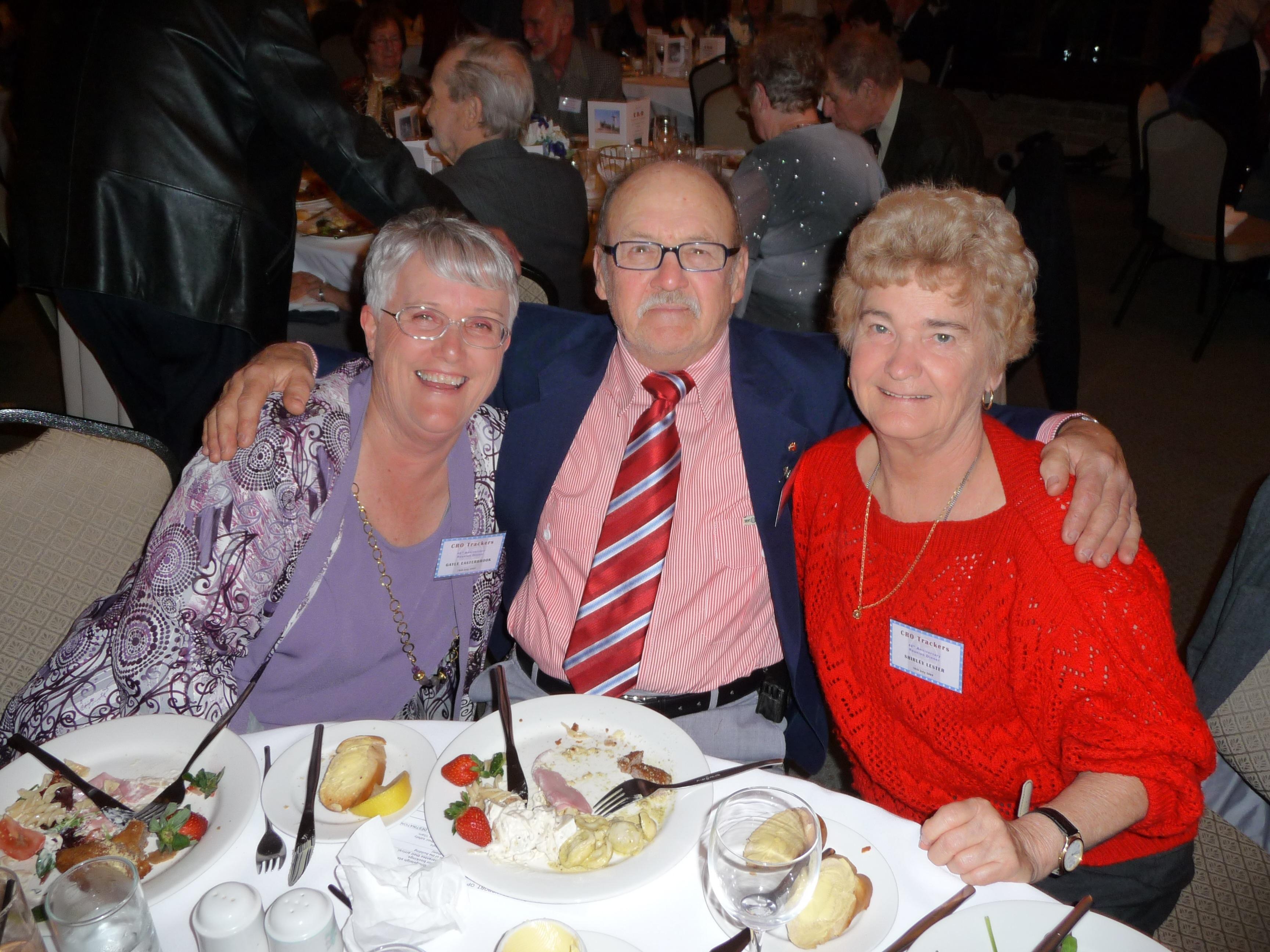 Gayle & John Easterbrook, Shirley Lester