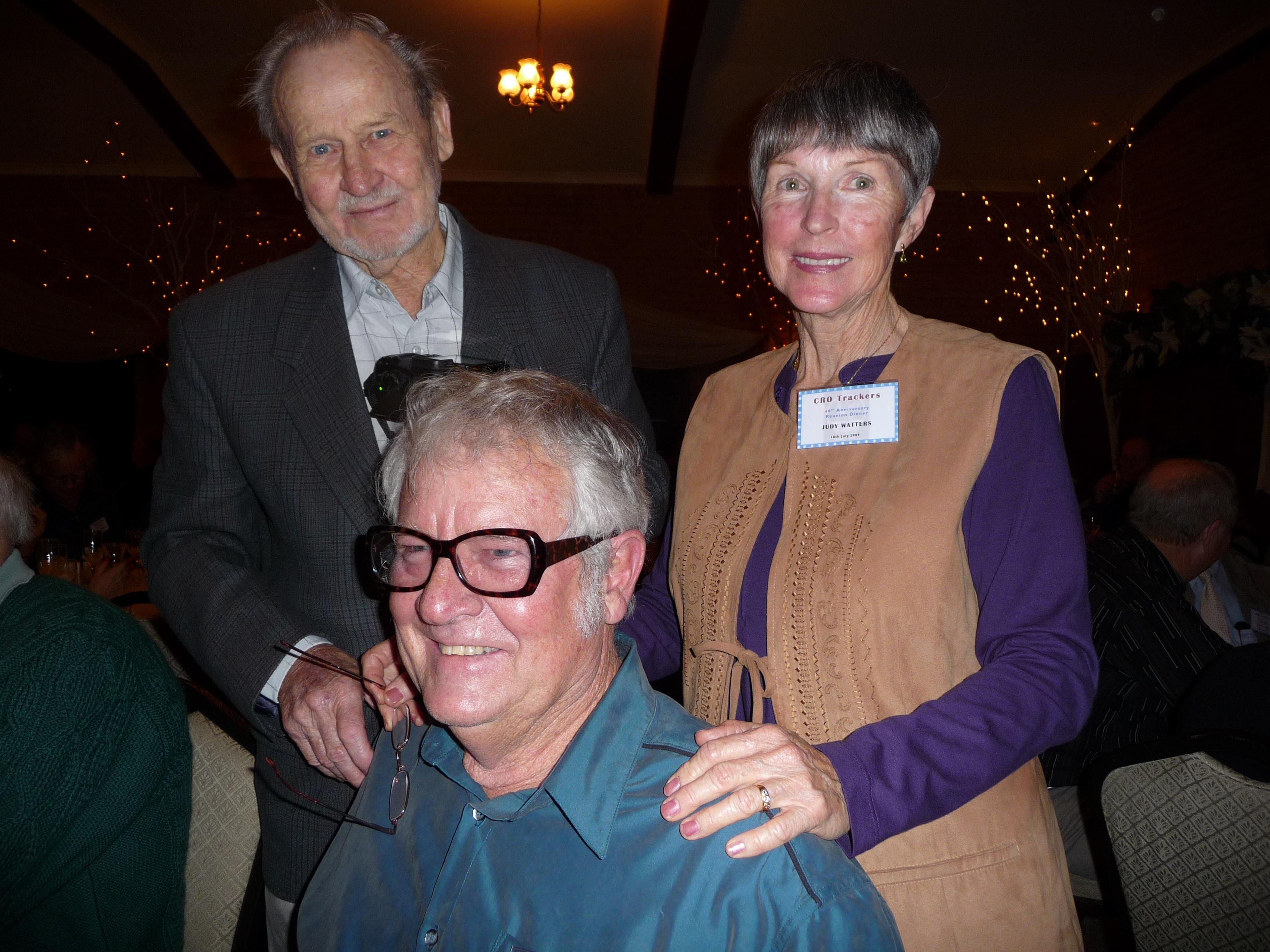Max Garth and Ken & Judy Watters