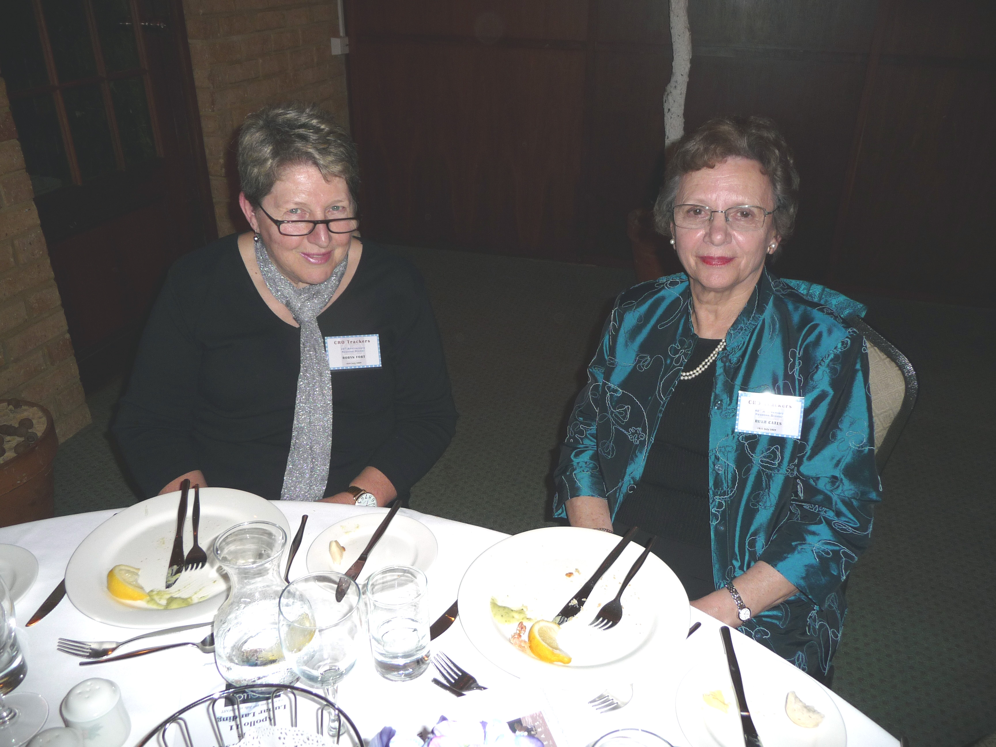 Robyn Fort & Ruth Gates