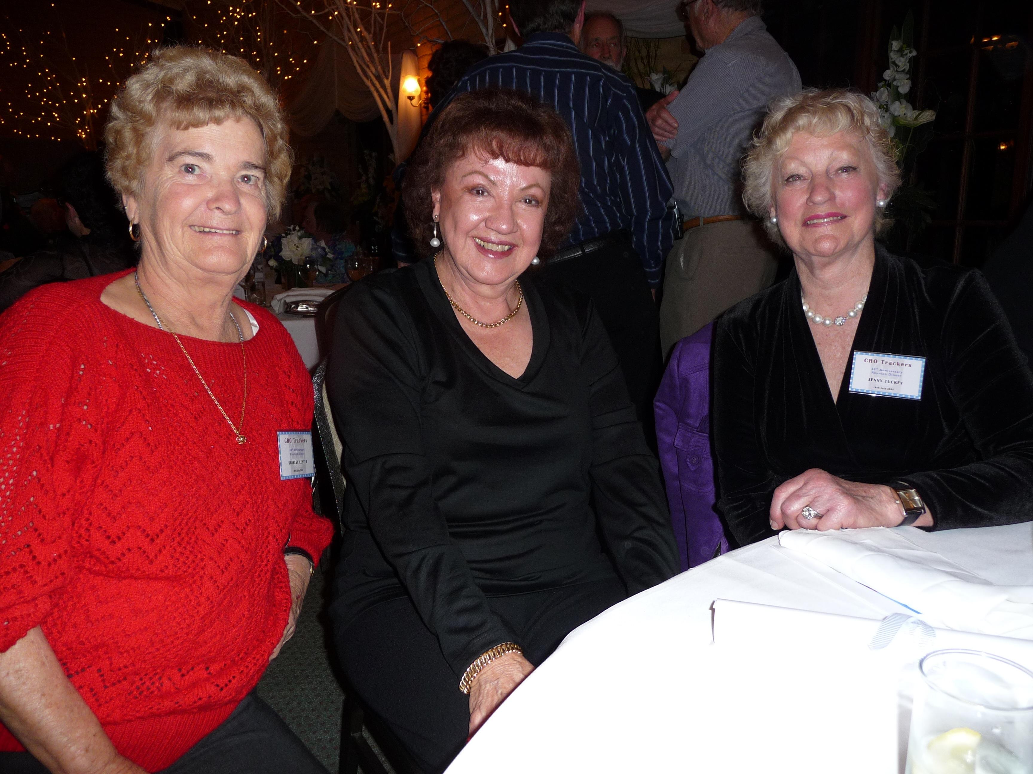 Shirley Lester, Jocelyn Housley & Jenny Tuckey