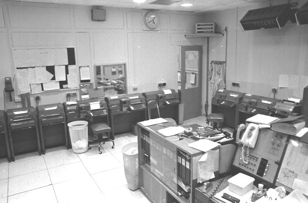 Teletype Room Photograph - John Harmsen