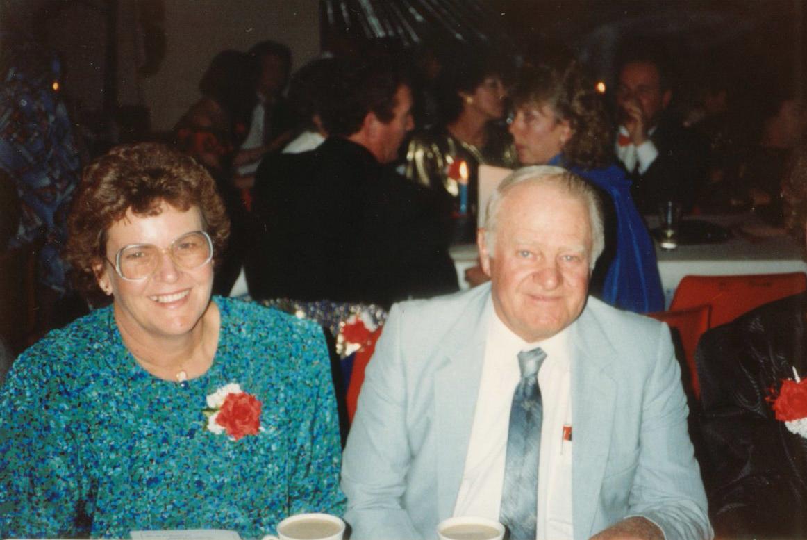 Mrs Teede & Bruce Teede