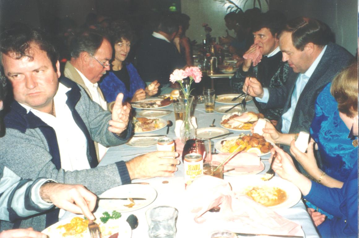 Dave Rodda, Stan Parkes, Carlene, Mike Ferguson, Fred Vey