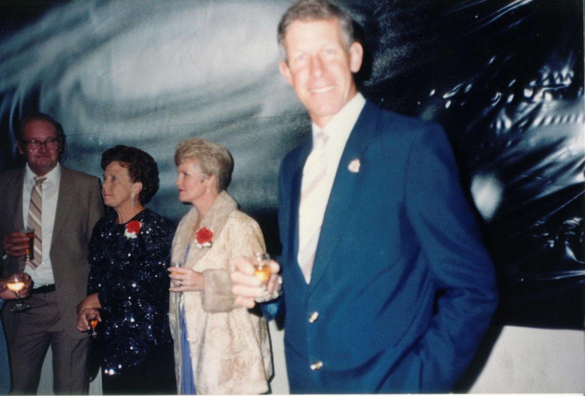 Gordon & Mary Wallace, Joy Sanderson, Mike Marsh