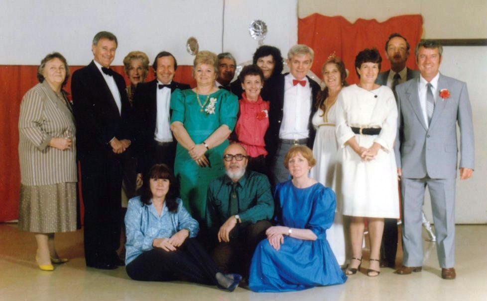 Jean Grundy, Wilson Tuckey, Shirley, Trevor & Val Mosel, Sybil Renshaw, Bev Roberston, Brian Renshaw
