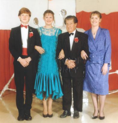 Richard, Michelle, Ron & Bernie Cooper