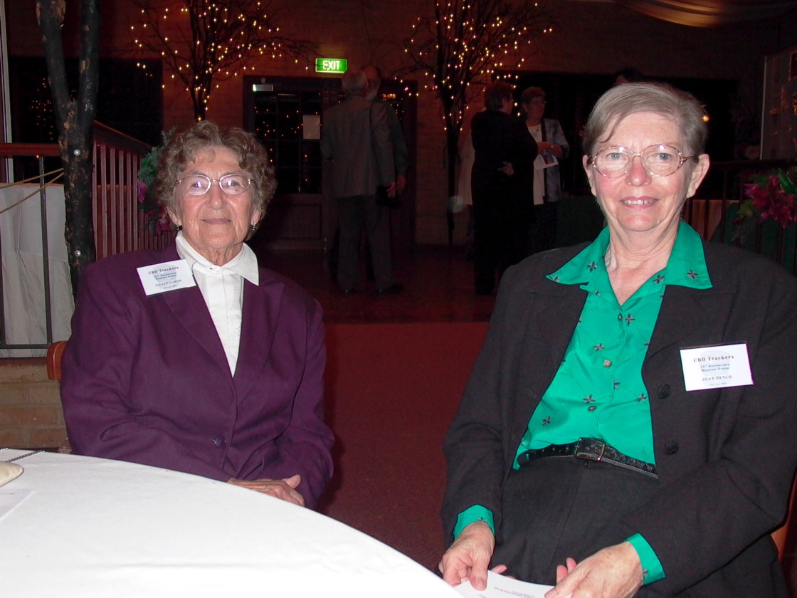 Eileen Garth & Joan Dench