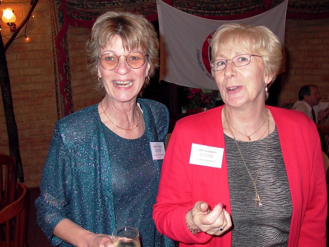 Jeanette Radford & Valerie Kierans