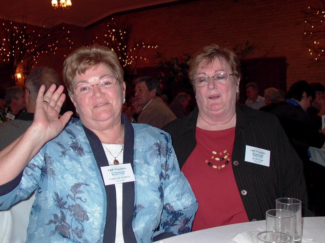 Lorraine Patrick & Valma Kerr