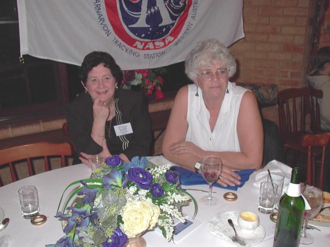 Lyn Harmsen & Jackie Ashford