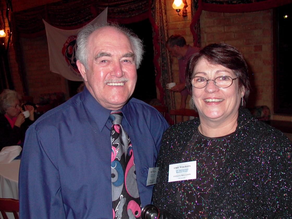 Terry Kierans & Lesley Boulton