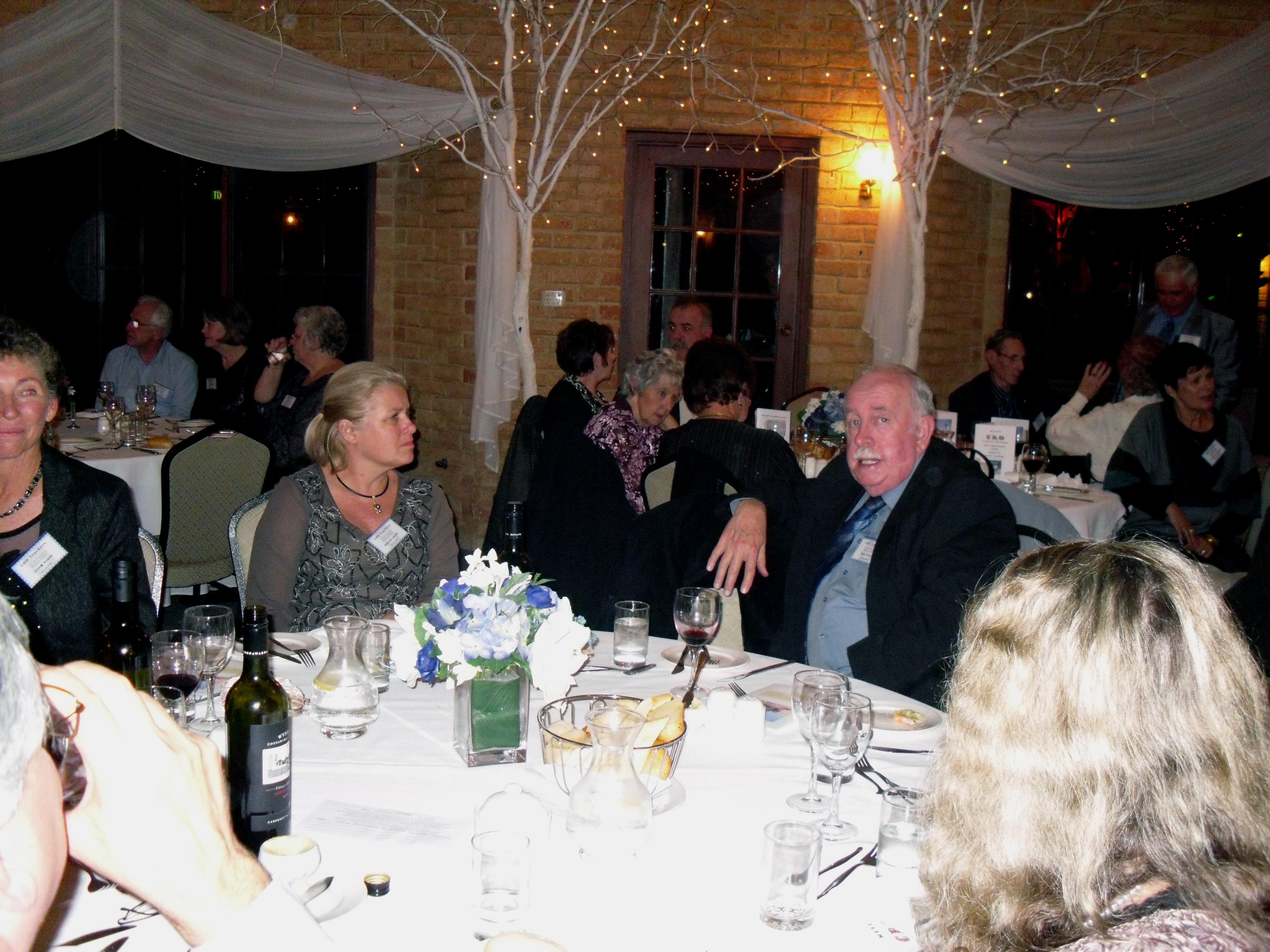 Marieka Squire and John Preece