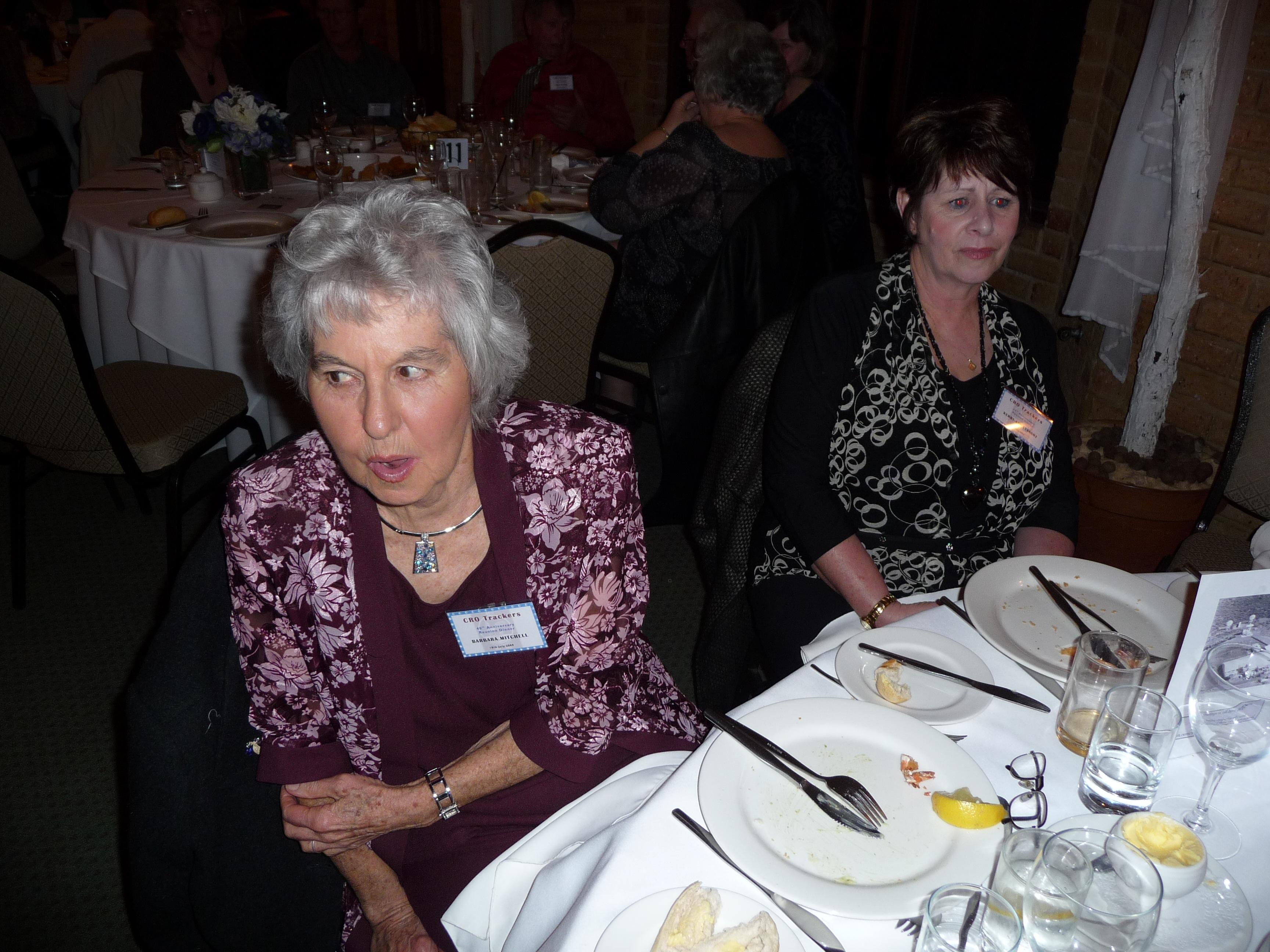 Barbara Mitchell & Kerry-Ann Lysaght