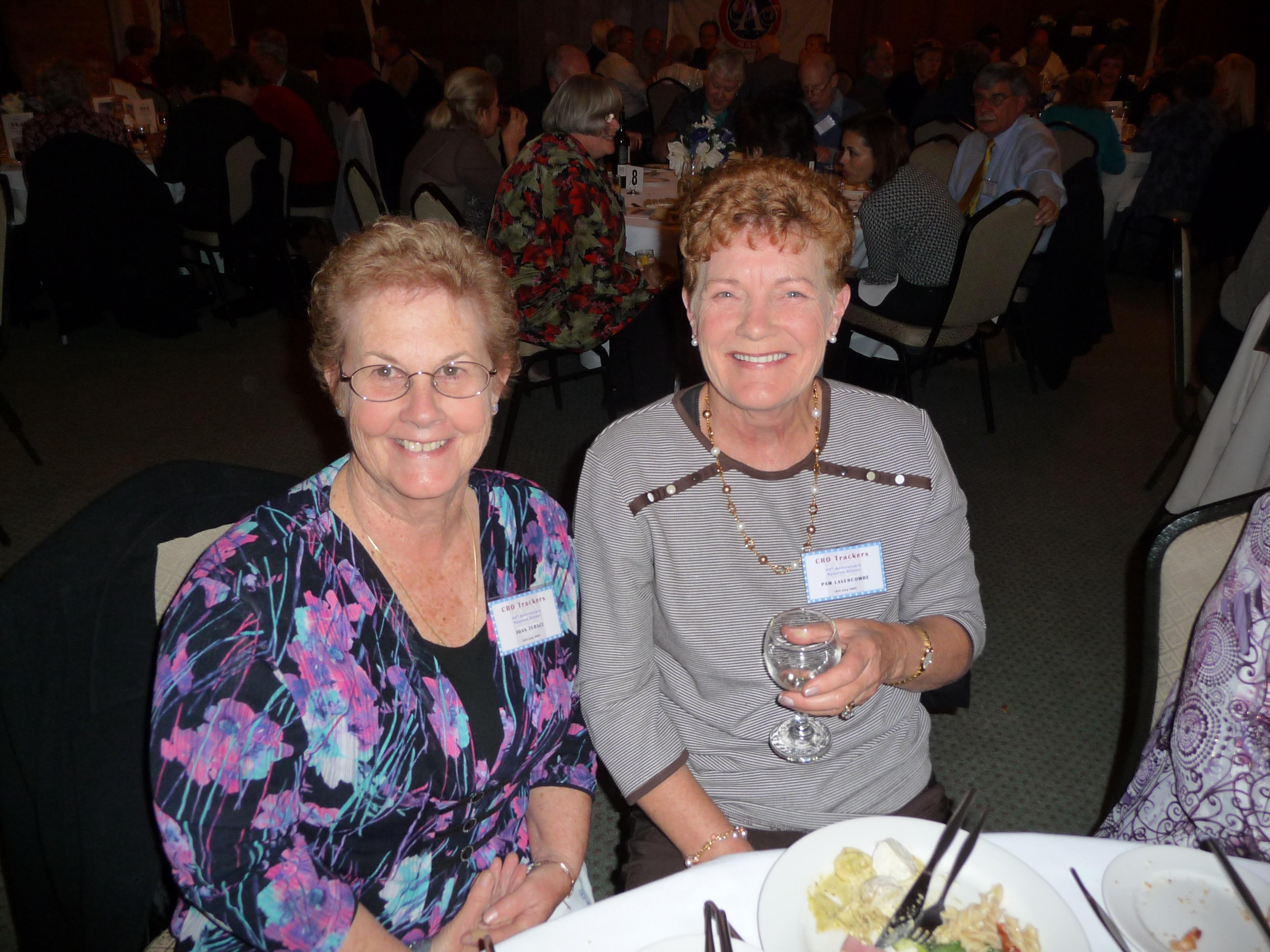 Joan Teraci & Pam Lavercombe