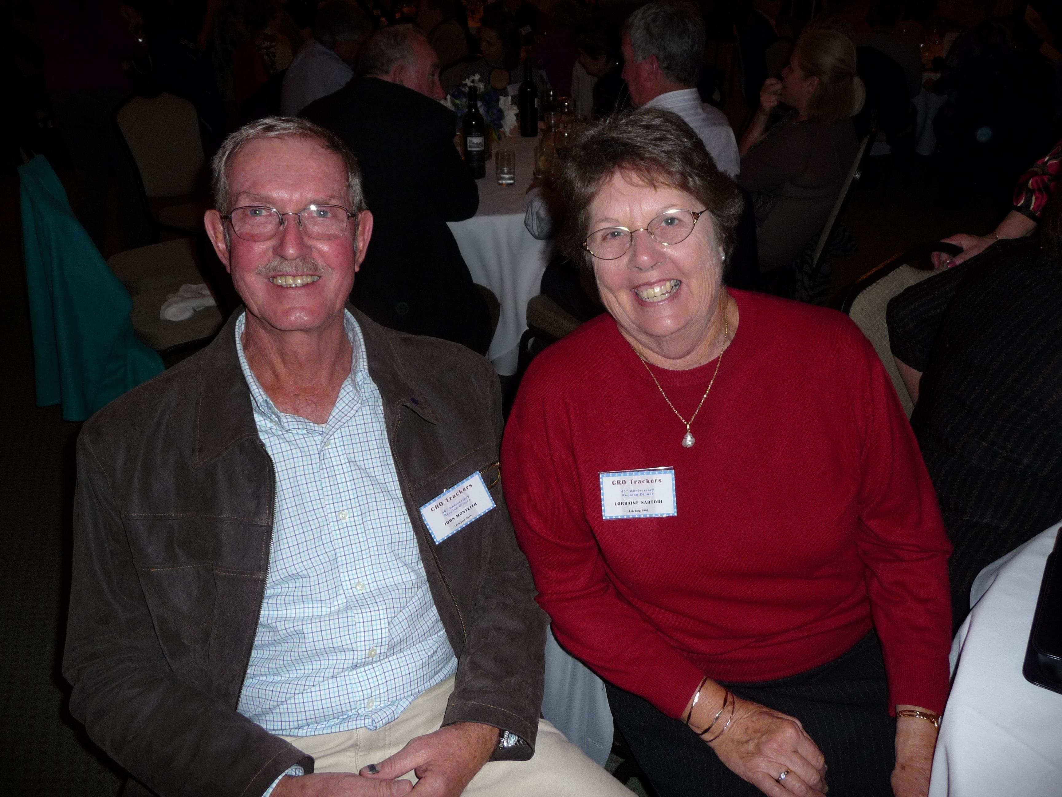 John Monteith & Lorraine Sartori