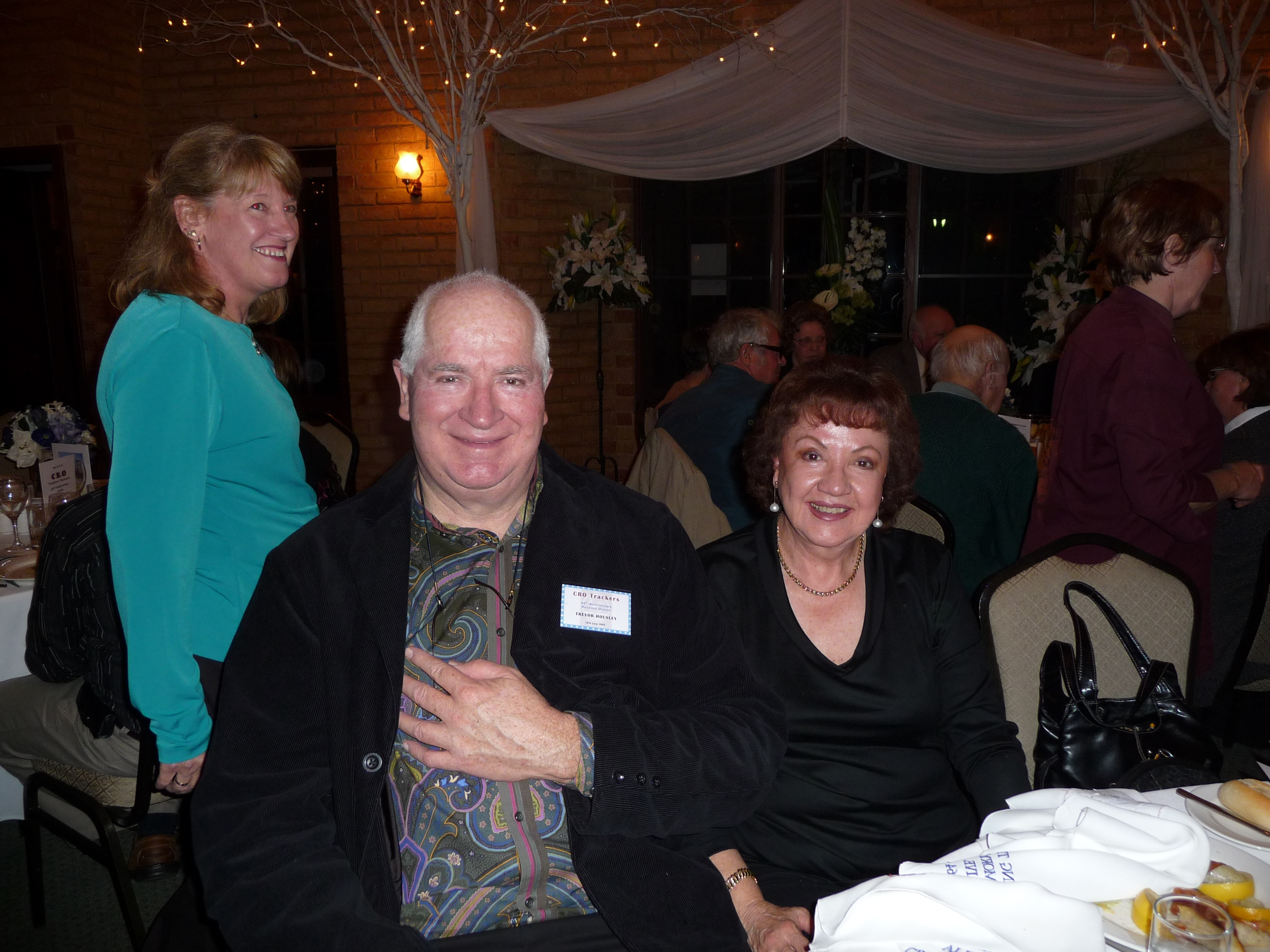 Marlene Cosolota and Trevor & Jocelyn Housley