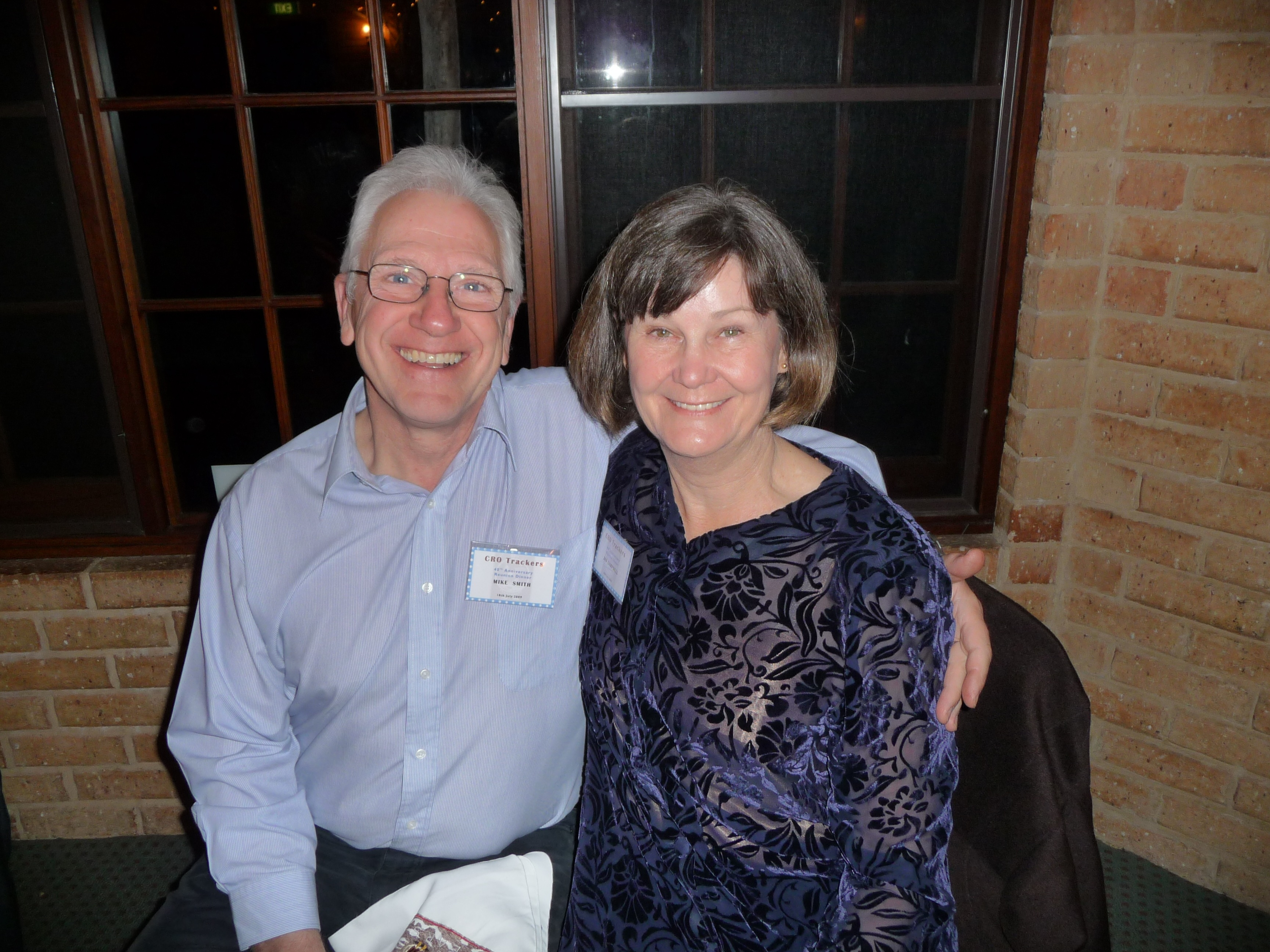 Mike Smith & Jan Campbell
