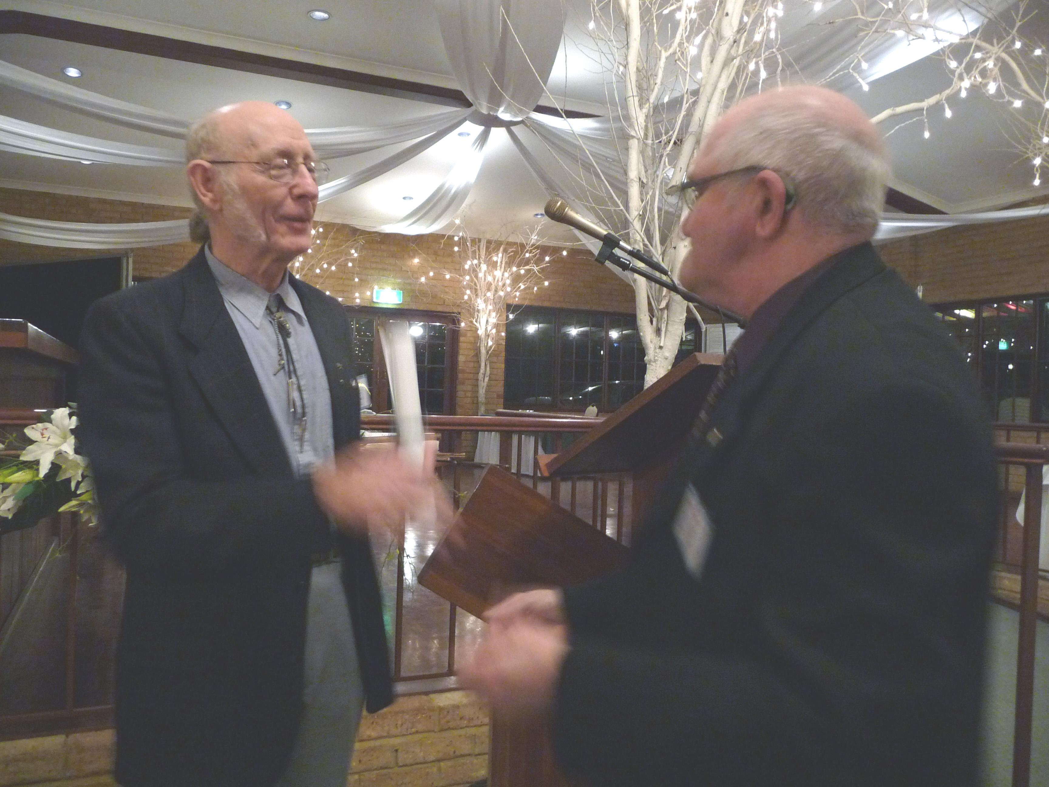 Paul Dench & Terry Kierans