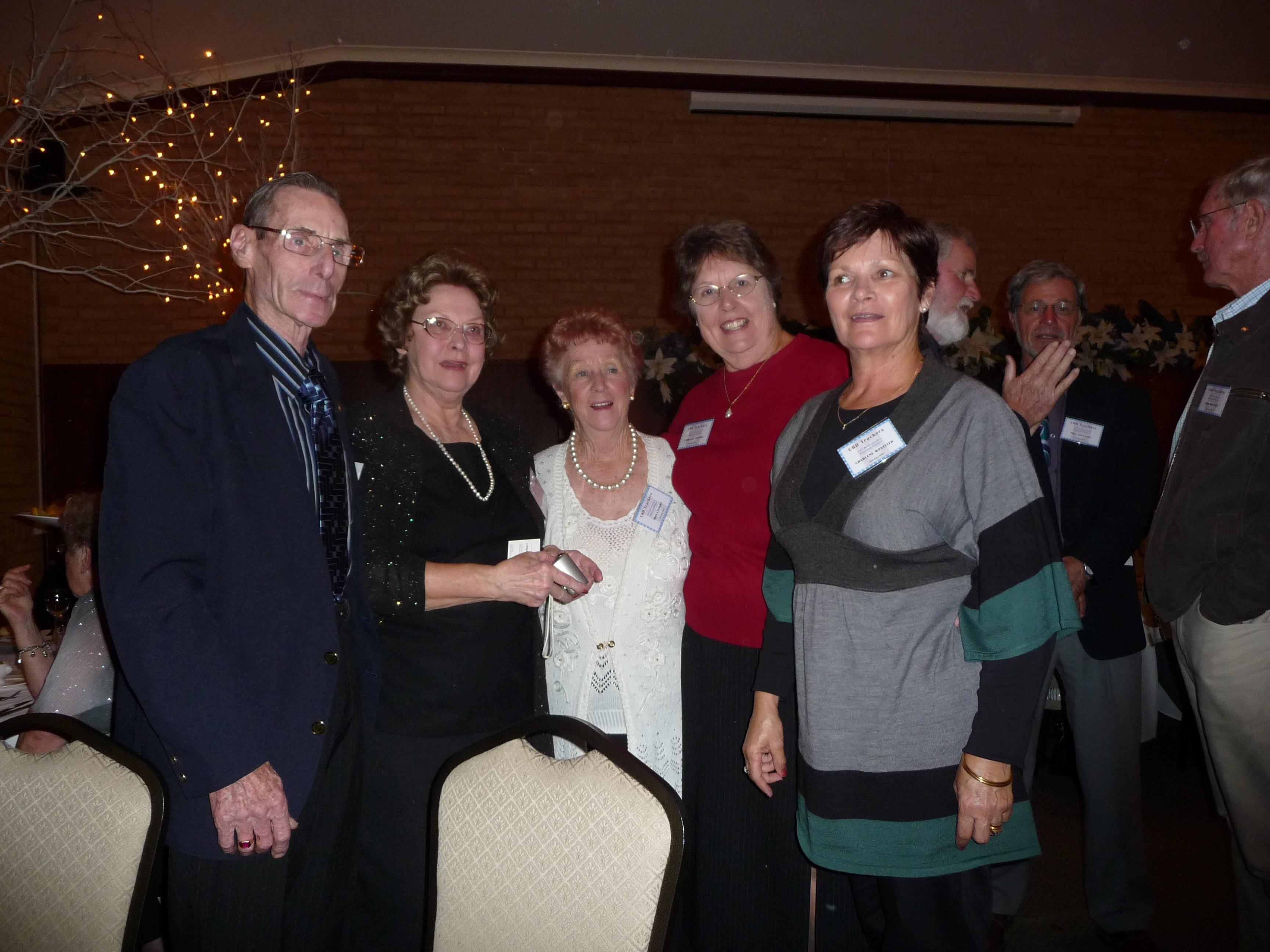 Tom Lysaght, Nadia Watson, Joan Lysaght, Lorraine Sartori (Rooney), Charlene Monteith