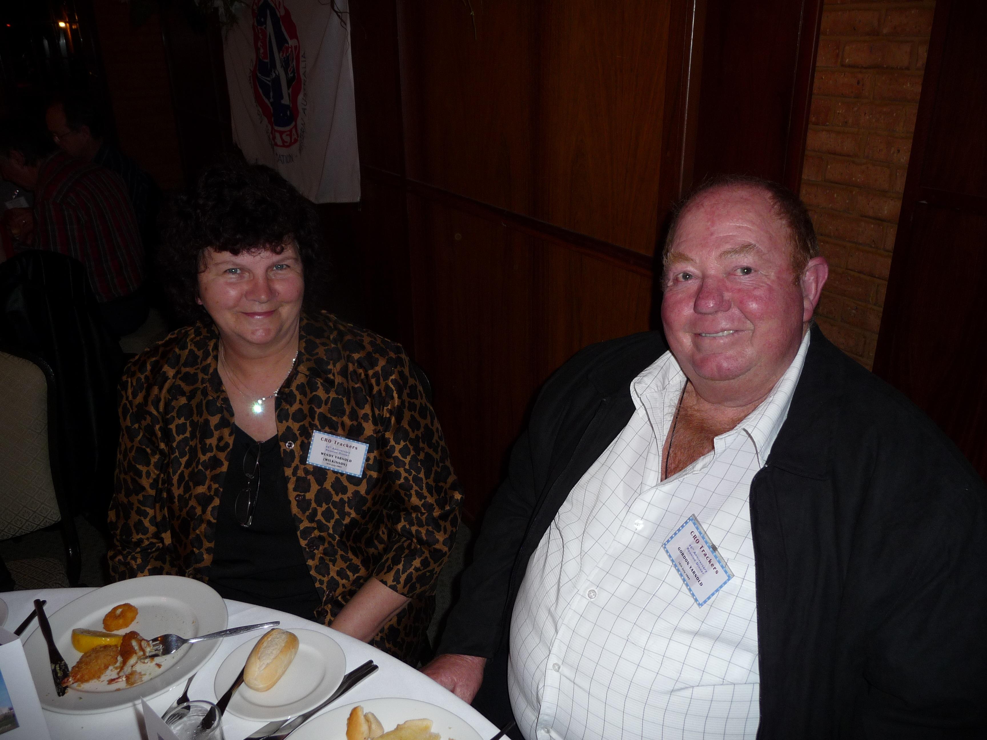 Wendy (Wilkinson) & Gordon Yarnold