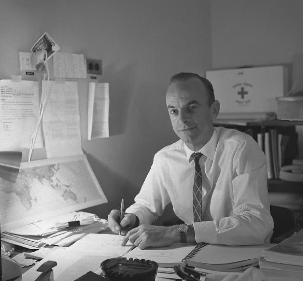 Len Algate, Original FPQ-6 Engineer  Photograph - Hamish Lindsay